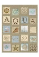 Aqua Tiles Fine Art Print