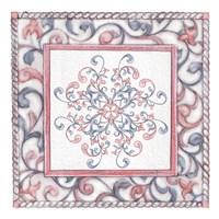 Florentine Rose Quartz & Serenity 4 Fine Art Print