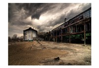 Ancient Train Yard 1 Fine Art Print