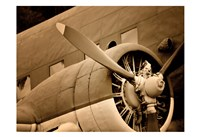 Plane Engine 1 Fine Art Print