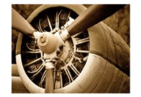 Plane Engine 2 Fine Art Print