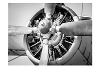 Plane Engine 3 Fine Art Print