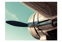 Plane Engine 4 Fine Art Print