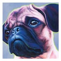 Blue Bulldog 82486 Fine Art Print