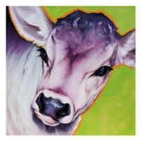 Green Calf 82493 Fine Art Print
