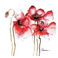 Amapola Roja 1 Fine Art Print
