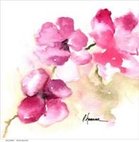 Pink Posies Fine Art Print