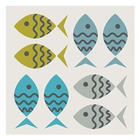 Fishy March Fine Art Print
