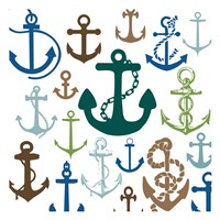 Natural Anchors Fine Art Print