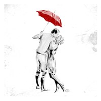 True Love Red Pop Fine Art Print