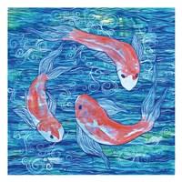 Circling Koi Fine Art Print