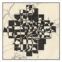 Modern Map of Atlanta Fine Art Print