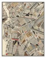 Modern Map of Brooklyn Fine Art Print