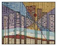 Modern Map of Detroit Fine Art Print