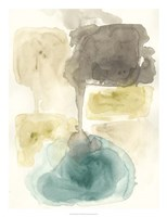 Liquid Stone II Framed Print