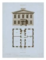 Chambray House & Plan IV Fine Art Print