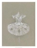 Ballet Dress II Framed Print