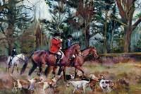 Foxhunt Fine Art Print