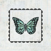 Butterfly Stamp Fine Art Print