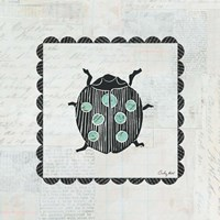 Ladybug Stamp Fine Art Print