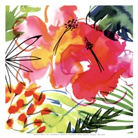 Jungle Hibiscus I Fine Art Print