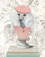 Canine Couture Newsprint IV Fine Art Print
