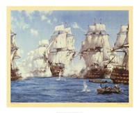Battle of Trafalgar Framed Print