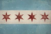 Chicago Flag Fine Art Print