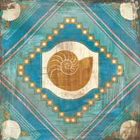 Bohemian Sea Tiles V Fine Art Print