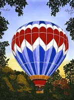 Balloon Over Letchworth Fine Art Print