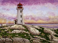 Nova Scotia - Peggy's Cove Lighthouse Fine Art Print