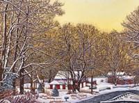 Boston Hill Road Fine Art Print