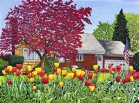 Springtime In Eden Fine Art Print