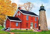 Charlotte-Genesee Lighthouse, Rochester, Ny Fine Art Print