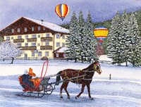 Chateau, Switzerland Fine Art Print