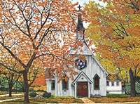 Country Church, Western NY Fine Art Print