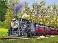 Engine #90 II, Strasburg, Pa Fine Art Print