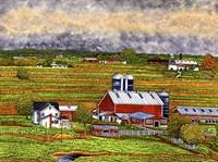 Farm Country, Lancaster Co, Pa Fine Art Print