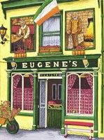 Ireland - Eugene's Pub Fine Art Print