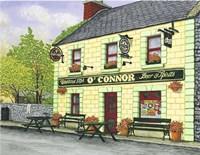 Ireland - O'Connor's Pub Fine Art Print