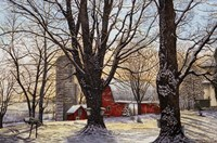 Maple Syrup Time, Collins Center Ny Fine Art Print