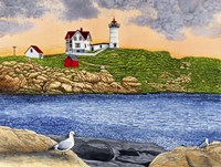 Nubble Light II C2005 Fine Art Print