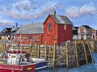 Rockport Motif I, Maine Fine Art Print