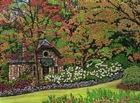 Stone Cottage, Canada Fine Art Print