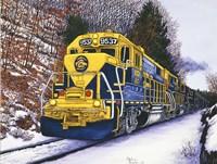 Engine #9537 Fine Art Print