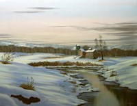 Winter Landscape 3 Fine Art Print