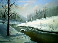 Winter Landscape 4 Fine Art Print
