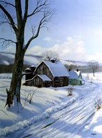 Winter Landscape 7 Fine Art Print