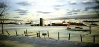 Winter Landscape 9 Fine Art Print