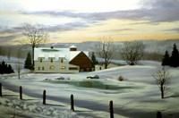 Winter Landscape 11 Fine Art Print